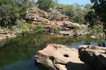 Information about visiting Koolpin Gorge in Kakadu