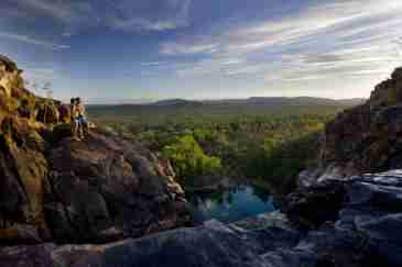 Information about visiting ​Gunlom Falls in Kakadu