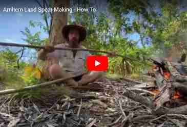 Spear fishing in Arnhem Land – how to make an Aboriginal fishing spear