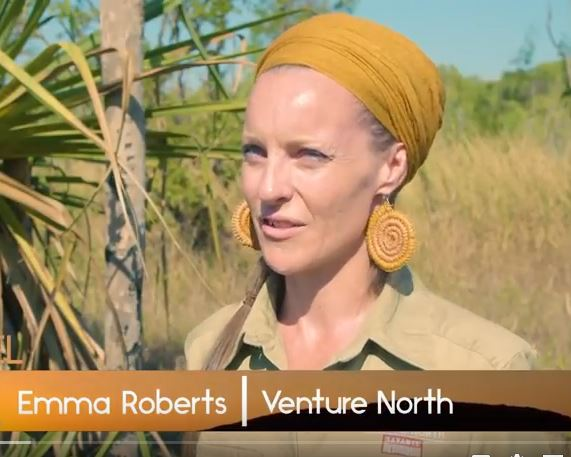 Tour guide Emma Roberts - Northern Territory